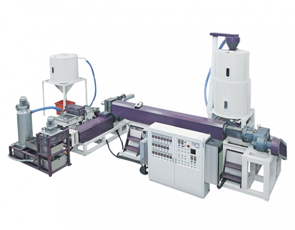 Two Station Model Plastic Film/Bottle Recycle Granulator