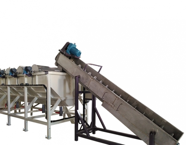 Plastic Waste Crushing / Washing / Drying Line