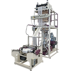 Mono-Layer Film Blowing Machine for Biodegradable Materials | CT-SP-Bio Model
