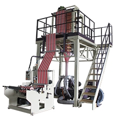 CT-TC HDPE / LDPE Stripe Two Color Co-extrusion Blown Film Machine