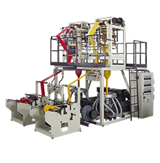 CT-ABATH ABA Co-Extrusion Line Twin Head Blown Film Machine