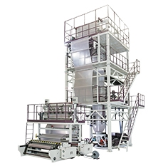 CT-TL3 Three Layer Co-Extrusion Blown Film Machine