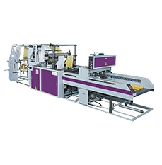 Fully Automatic Double Layer Flat Bags/ T-shirt Bags Making Machine