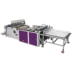 Flat Bags Making Machine With Hot-slitter