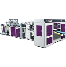 Fully Automatic Non-Tension Coreless Star-seal Bags On Roll Making Machine